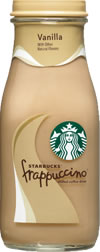 Vanilla Frappuccino® chilled coffee drink