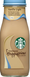 Vanilla Light Frappuccino® chilled coffee drink